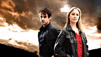 Tamzin Outhwaite and Emun Elliott star in Paradox, an intriguing, high-concept, high-octane, investigative drama