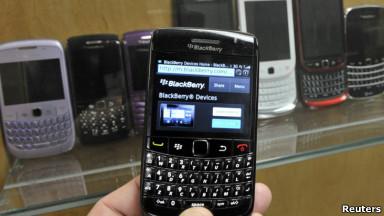 BBC Mundo - ¿Un Mundo Feliz? -  Donde Blackberry aún es rey