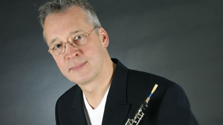 Oboist David Cowley. Photo: Luc Besson