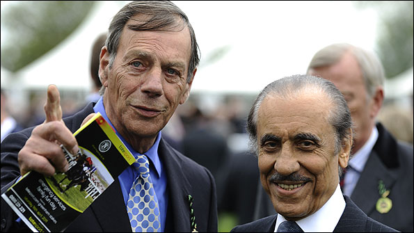 Henry Cecil with Khalid Abdulla