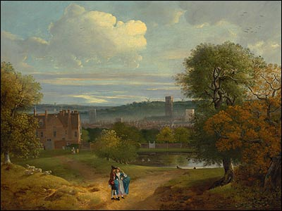 View of Ipswich by Thomas Gainsborough