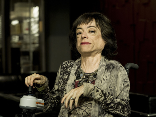 Liz Carr as Clarissa Mullery in Silent Witness
