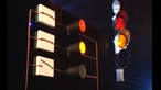 How are switches used to control traffic lights?
