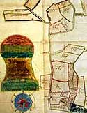 Image of an old map from Freckleton