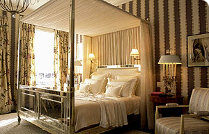 Four Poster Bed Drapes bbc - homes - design - rules of design - bedrooms
