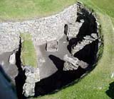 Image of Viking building remains in Shetland Isles, Scotland