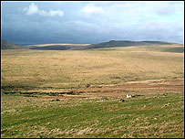 Spectacular landscape: Dartmoor's southern fringes