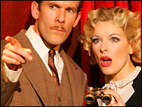 Production shot from The 39 Steps