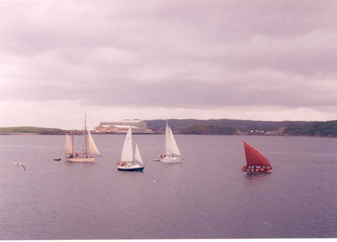 Participants in Sail Hebrides 2005