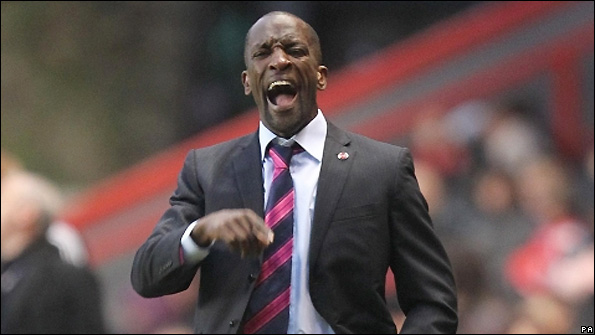 Chris Powell is the manager of Charlton Athletic.