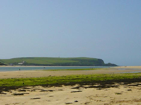 Padstow estuary by Cliff Sharpe