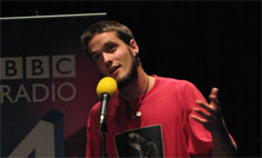 Dizraeli - winner of the 2007 Radio 4 Poetry Slam