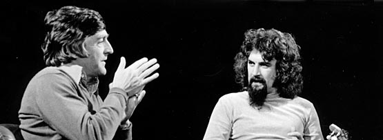 Michael Parkinson interviewing Billy Connolly