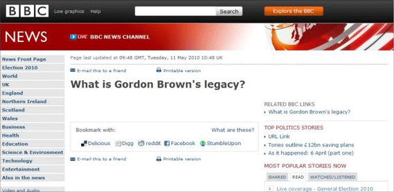 What is Gordon Brown's legacy?