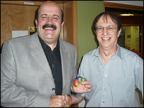 Willie Thorne and Dave Andrews
