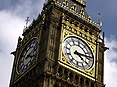 Westminster clock tower, better known as Big Ben.