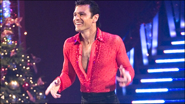 Mark Ramprakash in Strictly Come Dancing