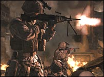 Scene from Call of Duty 4
