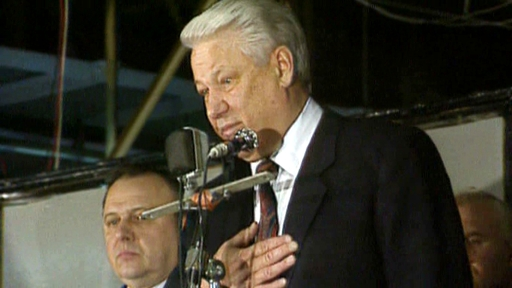 The rise of Yeltsin