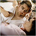 Johnny Vegas as Bottom and Sharon Small as Titania in 'ShakespeaRe-Told'