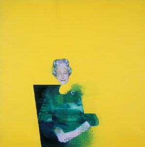 The Queen by Justin Mortimer, 1998 Oil on canvas, 1350 x 1350 mm The RSA © Justin Mortimer