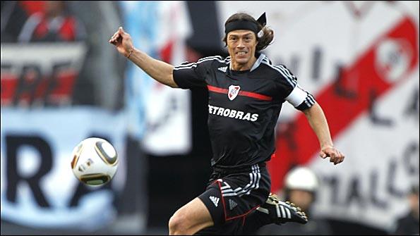 River Plate's Matias Almeyda