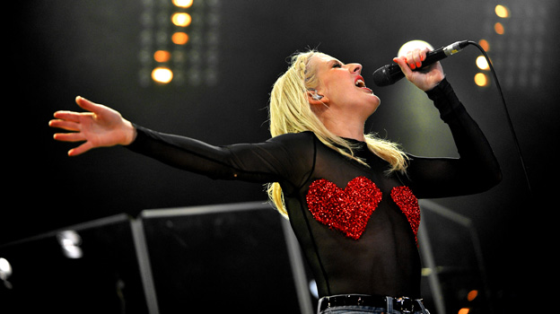 Ellie Goulding at Big Weekend 2011