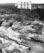 The Carters' house at Prussia Cove