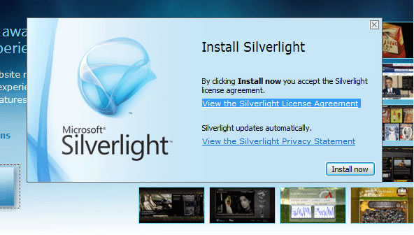 BBC - WebWise - How do I install the Microsoft Silverlight
