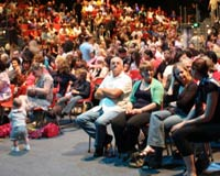 Congregation at Inspire Pentecostal Church, Sydney