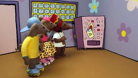 On the set of Rastamouse