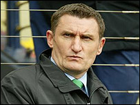 Tony Mowbray - ex-Hibs manager