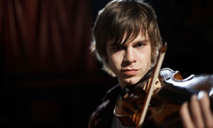 Classical Star: Emil plays the Violin