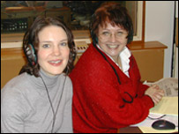 Susie Dent and Anne Diamond