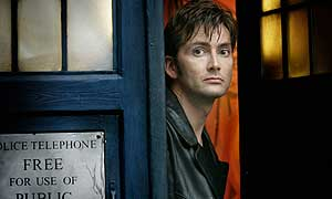 David Tennant as Doctor Who in The Christmas Invasion
