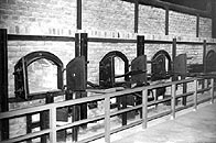 A crematorium at Majdanek, Poland