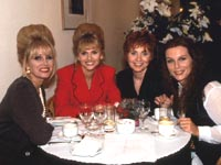 Edina, Patsy and friends