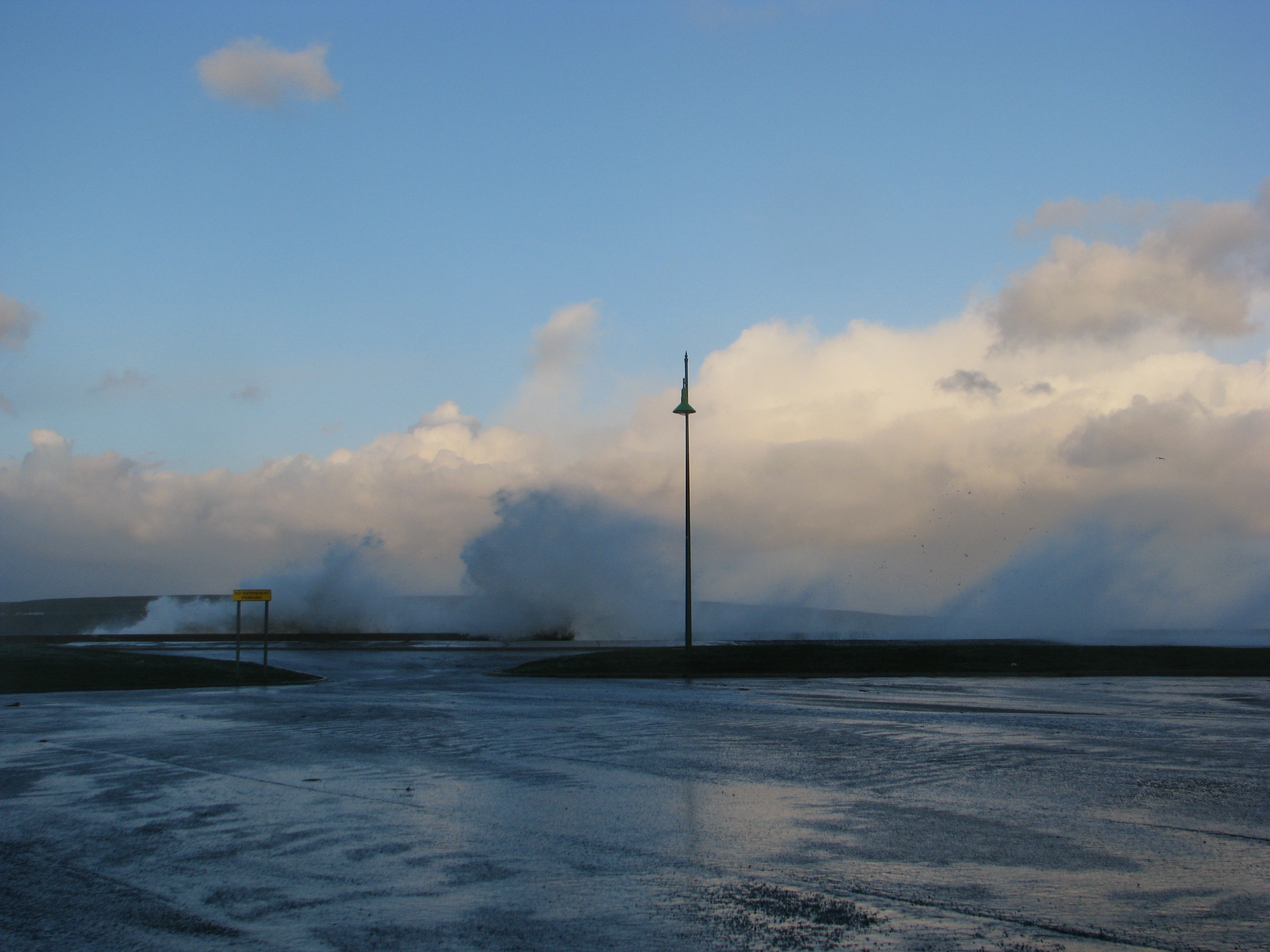 storm force winds thurso, scotland