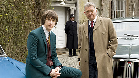 l-r: Lee Ingleby as John Bacchus and Martin Shaw as Gerorge Gently