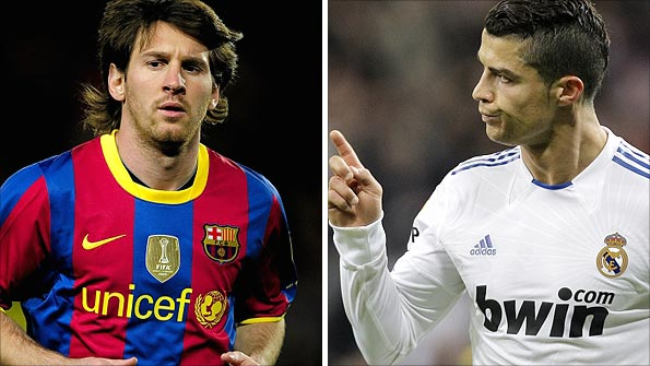 Messi and Ronaldo pit their explosive talents against each other in Barcelona on Monday