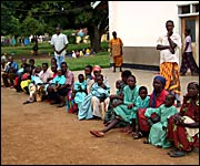 Patients waiting for treatment