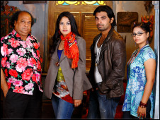 Cast of Bishaash, English in Action drama