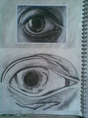 bbc blast art amp design mc escher eye drawing