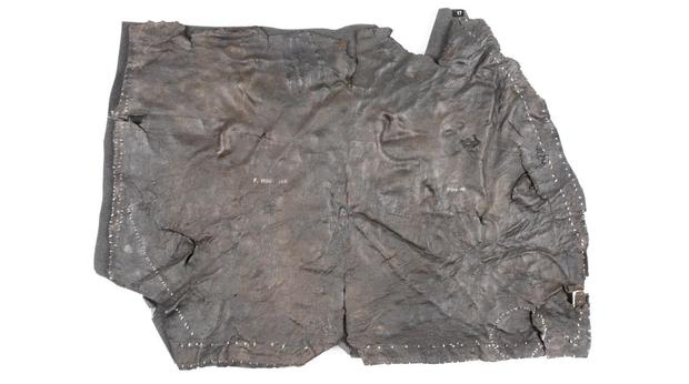 Roman Leather shield panel