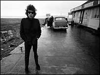 Bob Dylan at Aust in 1966