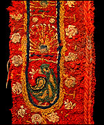 Detail of embroidered clavus, Egypt, c.9th century