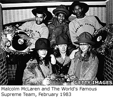 Malcolm McLaren and The World's Famous Supreme Team, February 1983