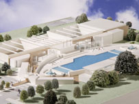 Bbc london features olympic size pool for west london - How many olympic sized swimming pools in uk ...