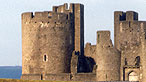Harlech castle - Crown Copyright: Royal Commission on the Ancient and Historical Monuments of Wale
