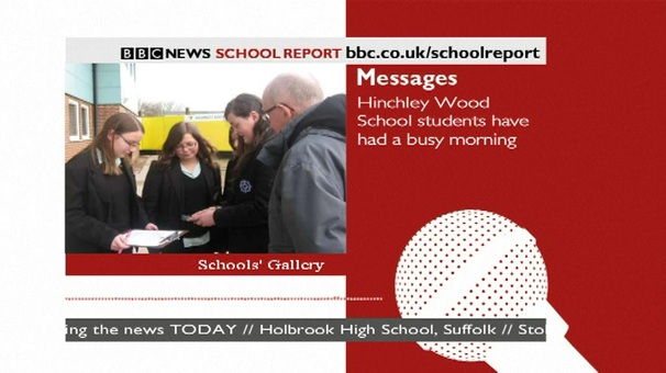 BBC School Report application for 2010